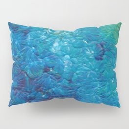 Ocean Waves, Abstract Acrylic Pillow Sham