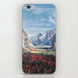 Tunnel View Yosemite Valley iPhone Skin