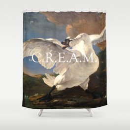 C.R.E.AM. Shower Curtain
