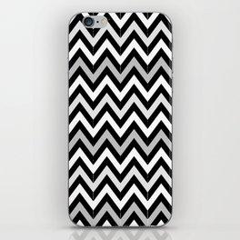 Chevron (Black and White) iPhone Skin
