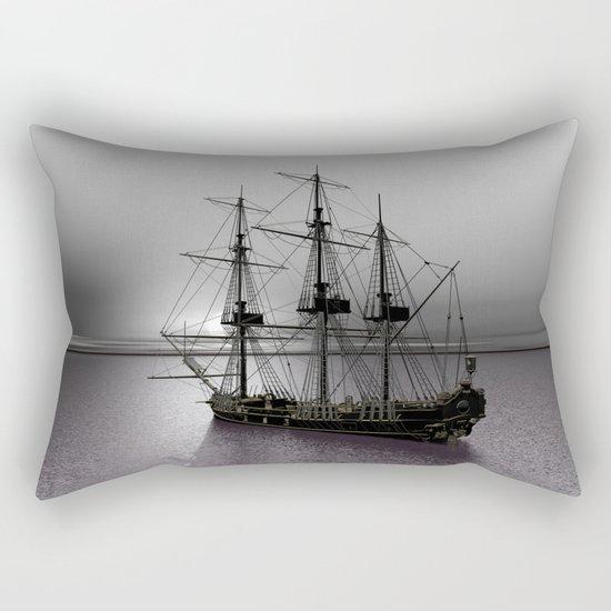 Sailing Along the Cold Sun Rectangular Pillow