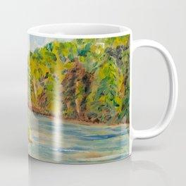 Pleasant Day at Ogle Lake Coffee Mug
