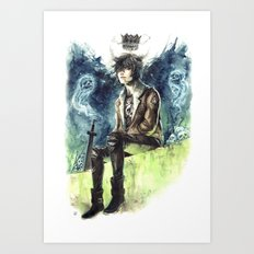 Nico Di Angelo - Son Of Hades Art Print