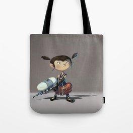 Violet Tote Bag