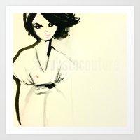 scrubs Art Prints featuring Scrubs To couture  by Scrubs to Couture- by Craig