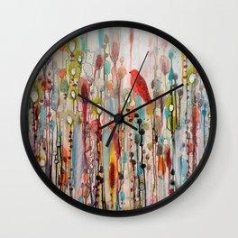 la vie comme un passage Wall Clock