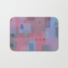 Some of this and that 2 - Abstract Digital Art Bath Mat