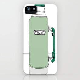 Classic Stanley Thermos iPhone Case