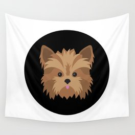 Yorkie Wall Tapestry