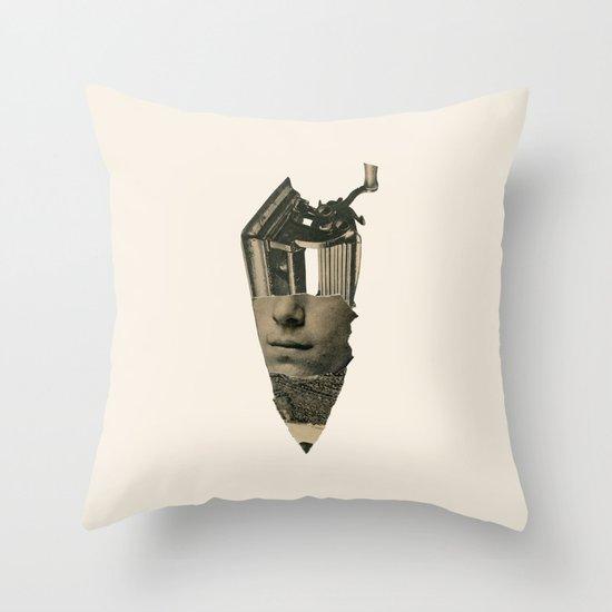 Sacapunta Throw Pillow