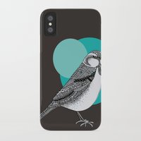 sparrow iPhone & iPod Cases featuring Sparrow by Rachel Russell