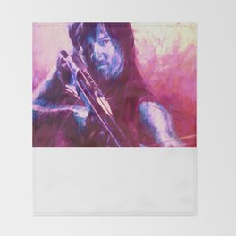 TWD Daryl Throw Blanket