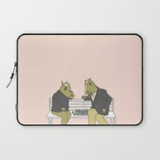 A two horse race Laptop Sleeve