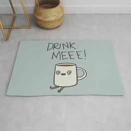 Drink Me Coffee Rug
