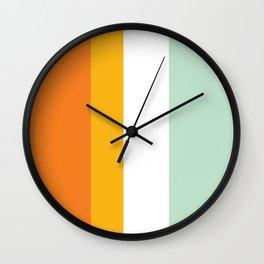 Island Holiday Wall Clock