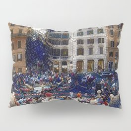 The Spanish Steps 4138 - Rome, Italy Pillow Sham