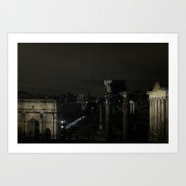 Roman Forum Art Print