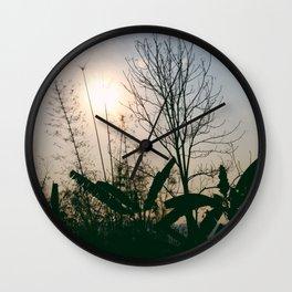 Goodbye My Sun Wall Clock