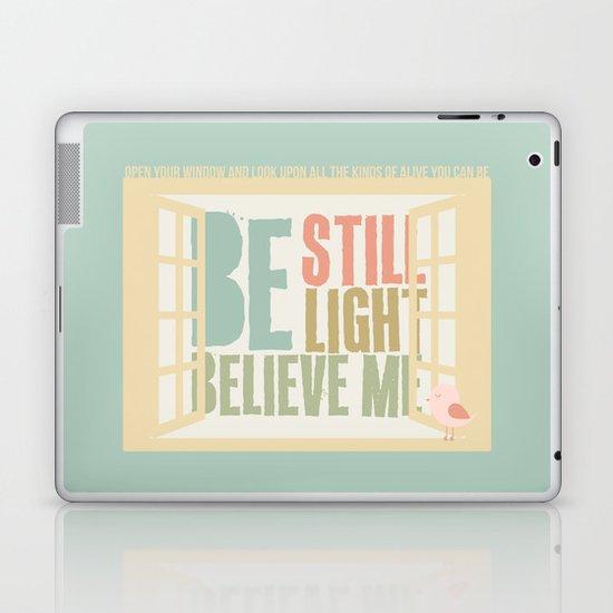 Little Bird - The Weepies Lyrics Laptop & iPad Skin