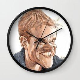 Matt Damon Wall Clock