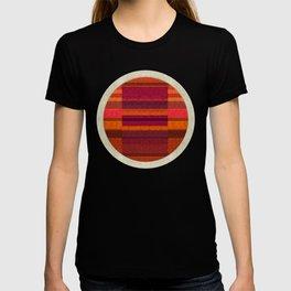 """Pink and Purple Burlap & Velveteen"" T-shirt"