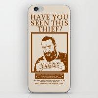 les mis iPhone & iPod Skins featuring [ Les Miserables ] Jean Valjean Hugh Jackman Mis by Vyles