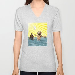 This Is My Beloved Son Unisex V-Neck