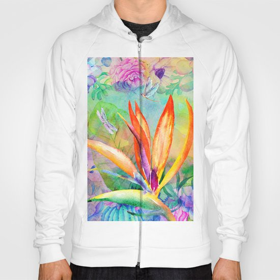 Bird of paradise i Hoody