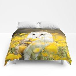 Australian Barn Owl (Tyto Alba) Comforters