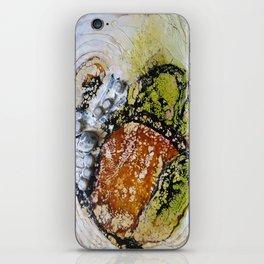 Unhinged Dreams - Mixed Media Beeswax Encaustic Modern Fine Art, 2015 iPhone Skin
