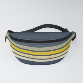 Racing Retro Stripes Fanny Pack
