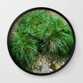 Decorative Grass Wall Clock