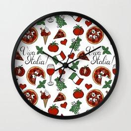 Viva Italia! Wall Clock