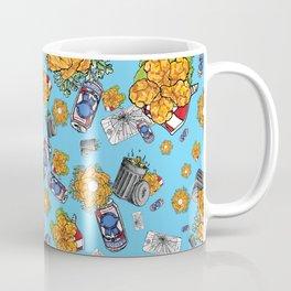 Dirtbag Staycation on Turquoise Coffee Mug