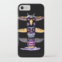 totes iPhone & iPod Cases featuring Totes by kyleharterart