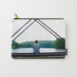 Pensive and Lonesome Carry-All Pouch