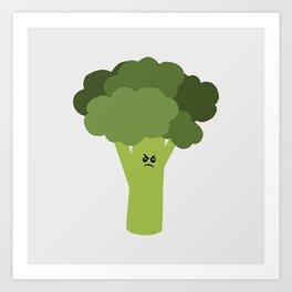 Bitter Broccoli Art Print