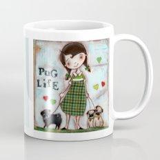 Pug Life - by Diane Duda Mug