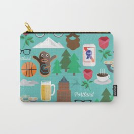 PDX patten Carry-All Pouch