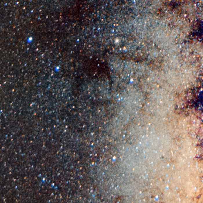 The Milky Way: from Scorpio and Antares to Perseus Leggings