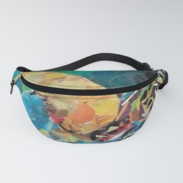 """"""" Sea Turtle Hole Punch """" Fanny Pack"""