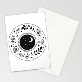 A Cup of Moonshine  Stationery Cards