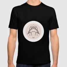 Spirit Wheel Black MEDIUM Mens Fitted Tee