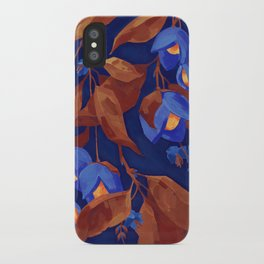 Tropical fruits iPhone Case