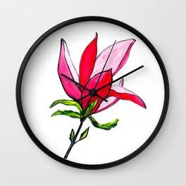 Magnolia the Anarchist Wall Clock