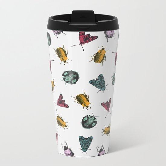 Bugs Metal Travel Mug