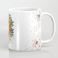 ethnic Mugs featuring ethnic by limonlukusburnu