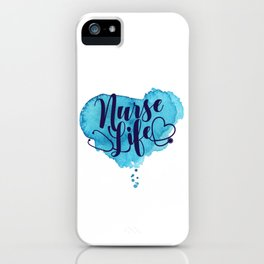 Nurse Life iPhone Case