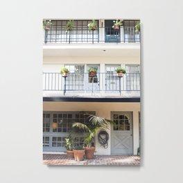 Garden Balcony Levels Metal Print