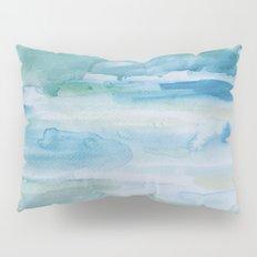Miami Beach Watercolor #1 Pillow Sham